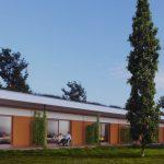 Architektur-Modellbild des Rotary-Hospiz