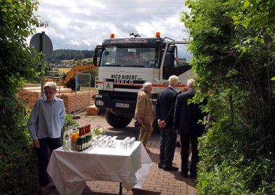 Feierstunde zum Baubeginn Rotary-Hospiz