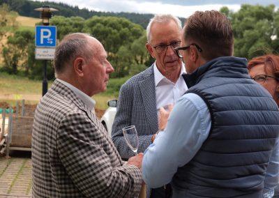 Besuch von Guido Schieck