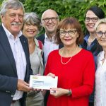 Spendenübergabe Fränkisch-Crumbach