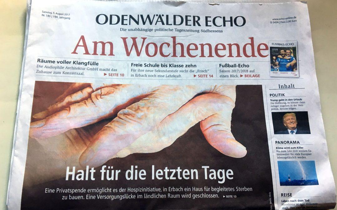 Odenwälder Echo vom 05.08.2017