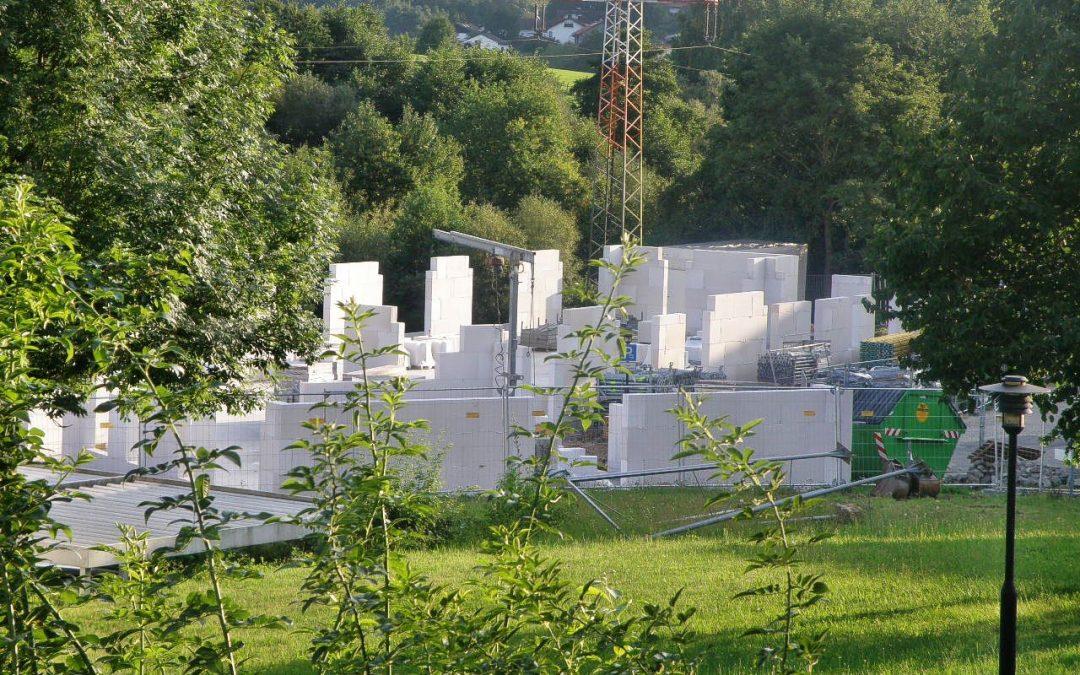 Rotary-Hospiz Erbach/Odenwald - Jetzt geht es in die Vertikale