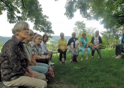 Ausflug zum Schloss Reichenberg 2017
