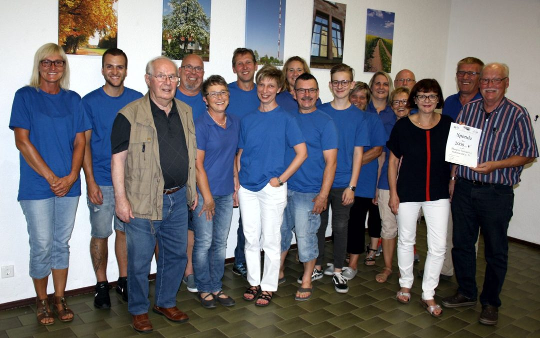 Würzberg: Spende an Hospiz-Initiative Odenwald e. V. übergeben