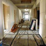 Der Innenausbau geht voran