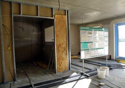 Neue Meilensteine auf dem Weg zum Rotary-Hospiz: Der Innenausbau geht voran