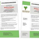 Stellenausschreibungen Rotary-Hospiz