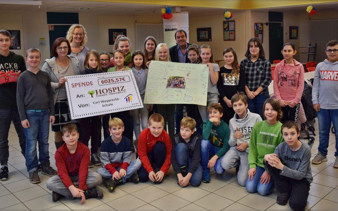 Die CWS in Bad König unterstützt die Hospiz-Initiative