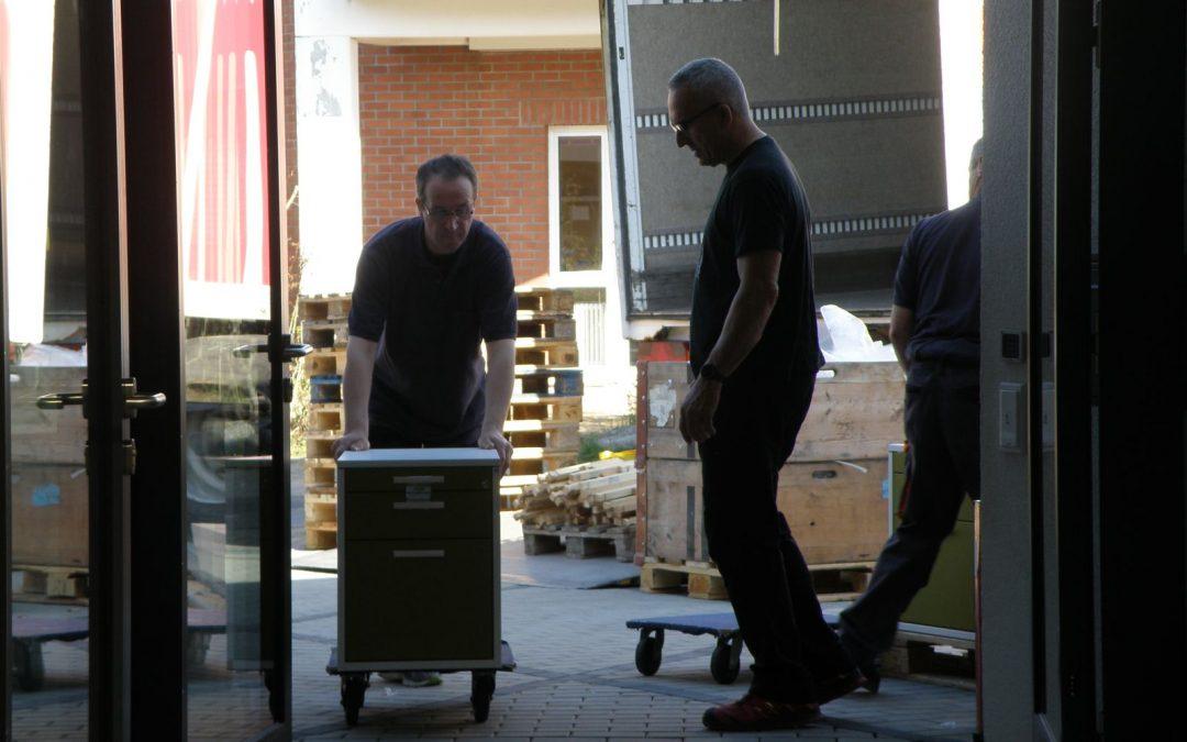 Rotary-Hospiz: Die Innenausstattung geht mit großen Schritten voran