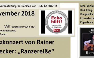 """Veranstaltung in Bad König im Rahmen von """"Echo hilft!"""""""