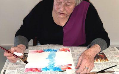 Künstlerische Patienten im ROTARY-HOSPIZ