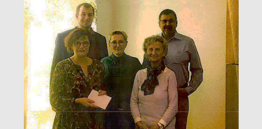 """Chorvereinigung """"Liedertafel"""" spendet an ROTARY-Hospiz"""