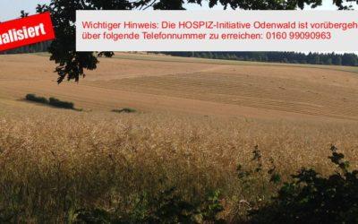 Aus gegebenem Anlass teilt die HOSPIZ-Initiative Odenwald e.V. folgendes mit: