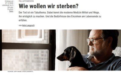 """""""SPEKTRUM"""": Leben mit dem Tod"""