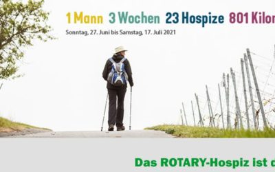 Wanderung zu 23 hessischen Hospizen